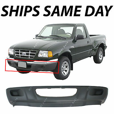 NEW - Textured Front Bumper Lower Valance for 2001 2002 2003 Ford Ranger W/o - 1 Front Bumper Valance