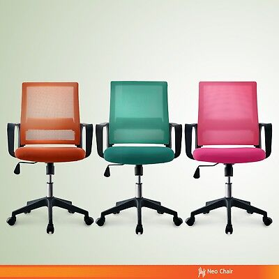 Fashionable Two Tone Color Home Office Conference Room Chair Premium Bern Mesh