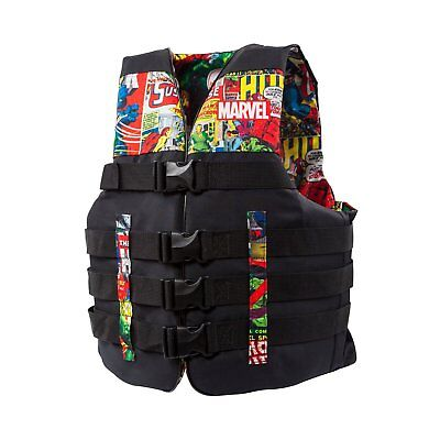 Body Glove Marvel Method Nylon Adult Men Women Life Jacket Vest, Large/X Large