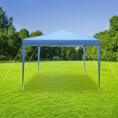 10'x10' Pop up Canopy Tent Garden Party Wedding Gazebo Outdoor Sun Shade Shelter