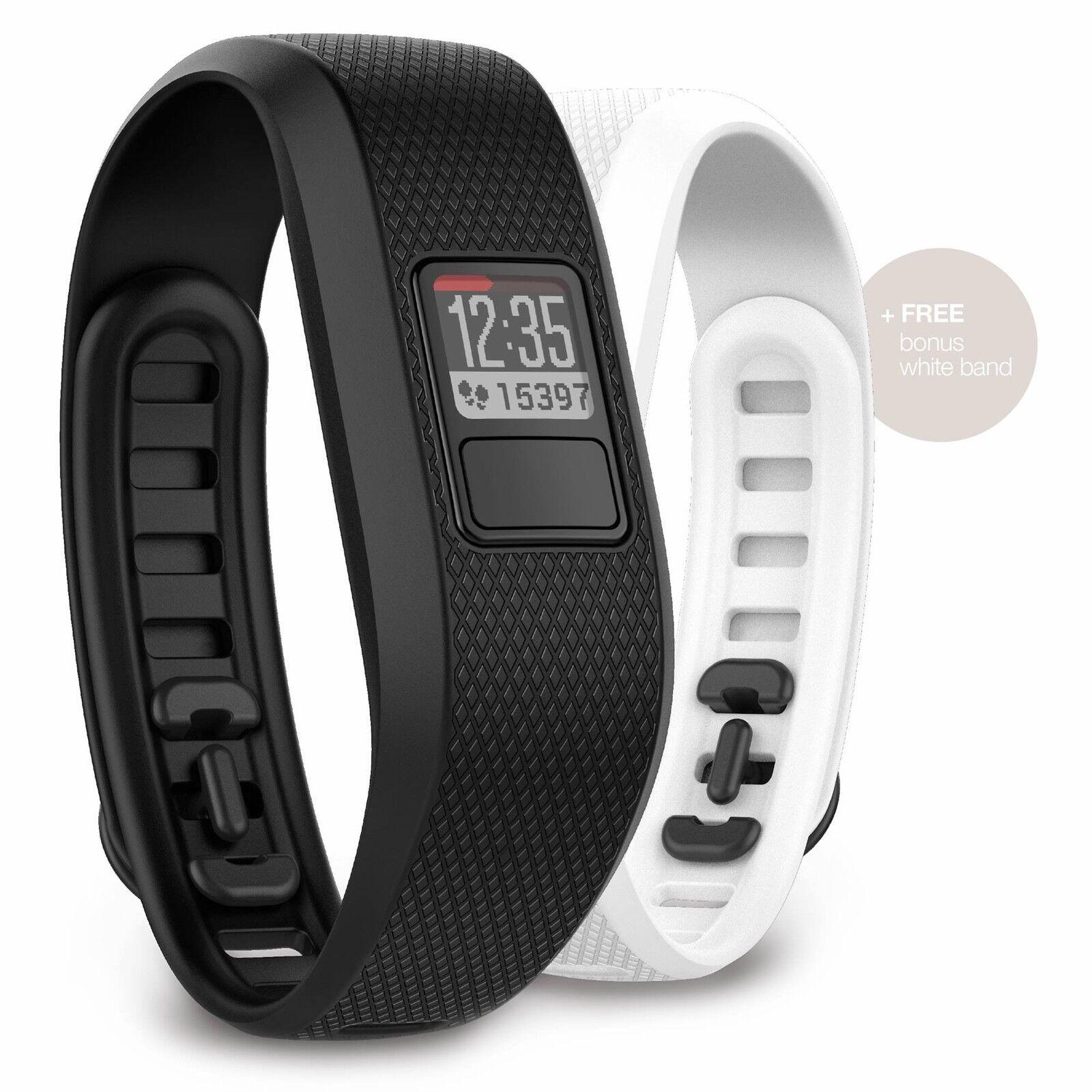 Купить Garmin Garmin Vivofit 3 - Garmin vivofit 3 Bundle Activity Tracker-w/ Additional White Accessory Band-NIB