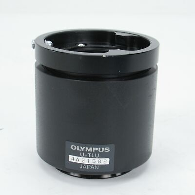 Olympus U-tlu Single Port Tube With Lens For Bxix Series Microscope