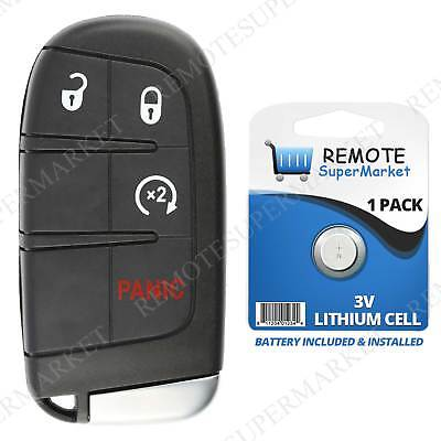 Remote For 2015 2016 2017 2018 Jeep Renegade Keyless Entry Start Car Key Fob