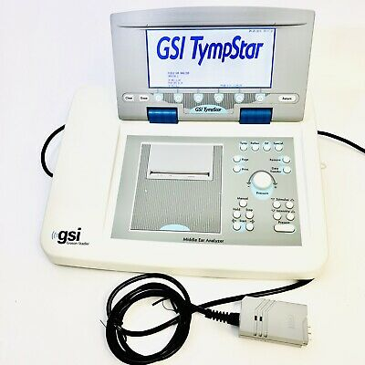 Gsi Tympstar Tympanometer Grason Stadler Middle Ear Analyzer V - 2.20 Tested.