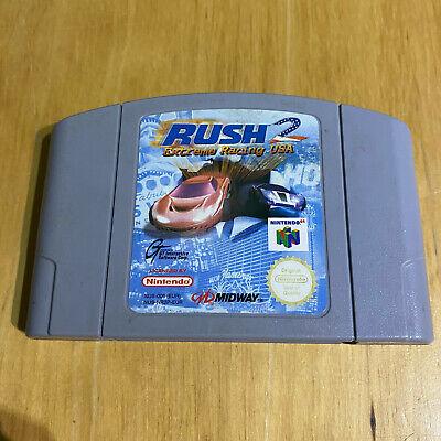 N64 Nintendo 64 - Rush 2 Extreme Racing USA