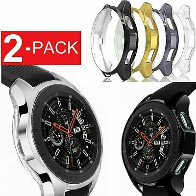 2x Samsung Galaxy Watch  / Active 2 Case TPU Protective Case Cover 40/42/44/46mm Jewelry & Watches