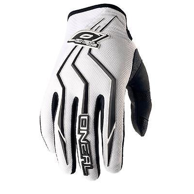 O'Neal Element Kinder Handschuhe Weiß MX MTB Motocross - Weiße Handschuhe Kind