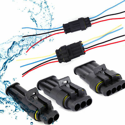 10car Waterproof Electrical Wire Cable Automotive Connector 34pin Way Plug Kit