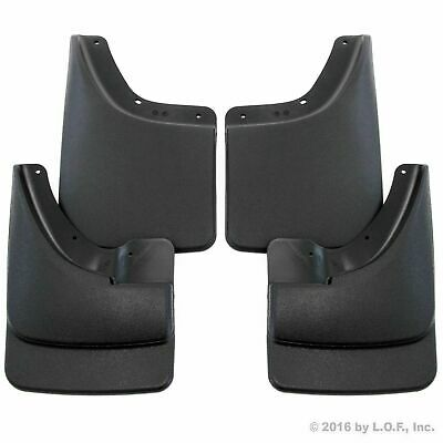 2002-2008 Dodge Ram Mud Flaps Mud Guards Splash No Flares Front Rear Molded 4pc Dodge Truck Mud Flaps