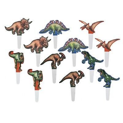 Dinosaur theme party cake topper cupcake topper cake decoration party favor