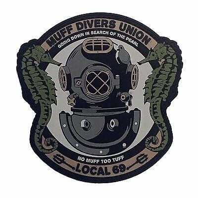 Muff Divers Union - PVC Tactical Morale Patch