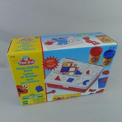 Vintage Sesame Street Play Doh Shape Making Easel Set 22199 Hasbro 1998 Boxed