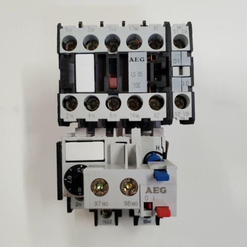 AEG EEControls HS05.01 LS0510E Motor Starter 5.5-8A 480V Coil 1NO 1NC