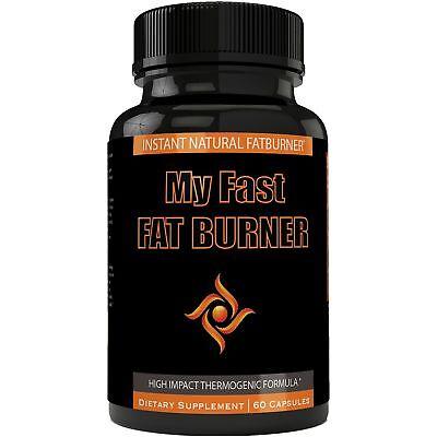 My Fast Fat Burner | My Fast Burner Quemador de Grasa Supplement Capsules for...