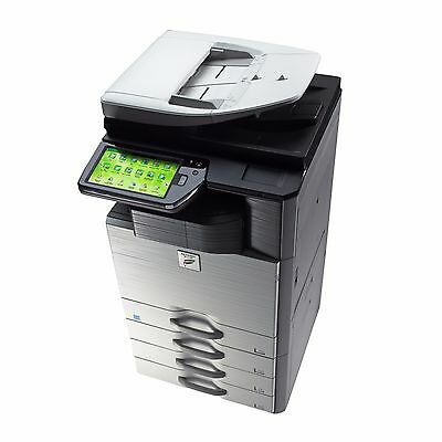 Sharp Mx-2610n Color Copier Printer Scanner - Network -stapler Finisher