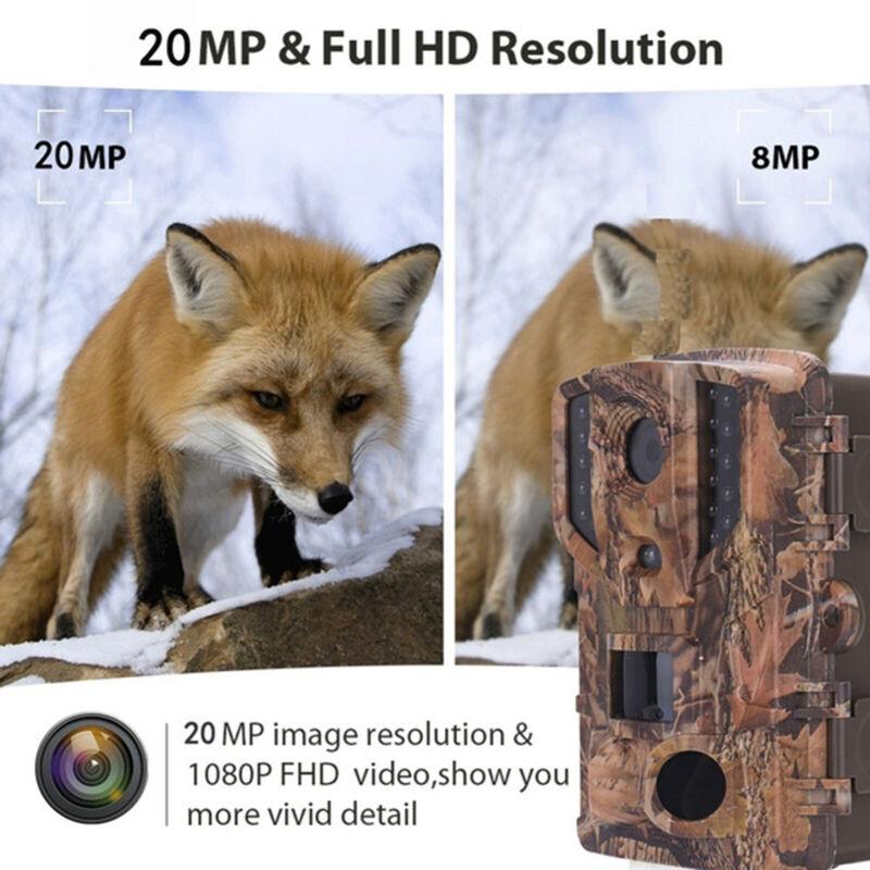 16MP+1080P+Hunting+Camera+Animal+Deer+Wildlife+Trail+Game+Cam