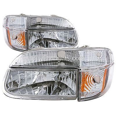 ALFA SUMMIT 2004 DIAMOND HEADLIGHTS TURN SIGNAL LAMPS LIGHTS FRONT MOTORHOME RV