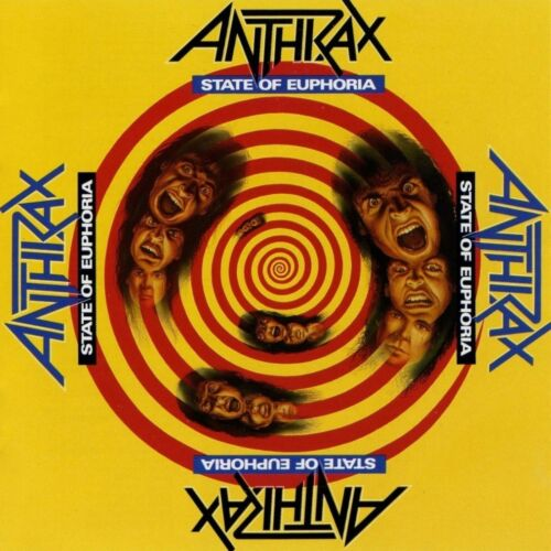 ANTHRAX State of Euphoria BANNER HUGE 4X4 Ft Tapestry Fabric Poster Flag Print