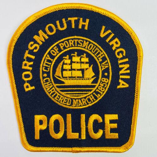 Portsmouth Police Virginia VA Patch (A6)