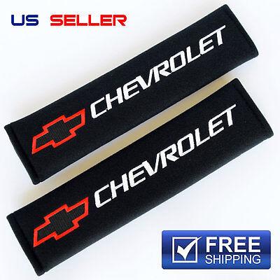 SHOULDER PADS SEAT BELT 2PCS FOR CHEVY CHEVROLET SP06 - US SELLER
