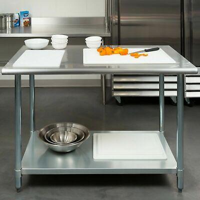 30 X 48 Stainless Steel Work Prep Table With Undershelf Kitchen Restaurant
