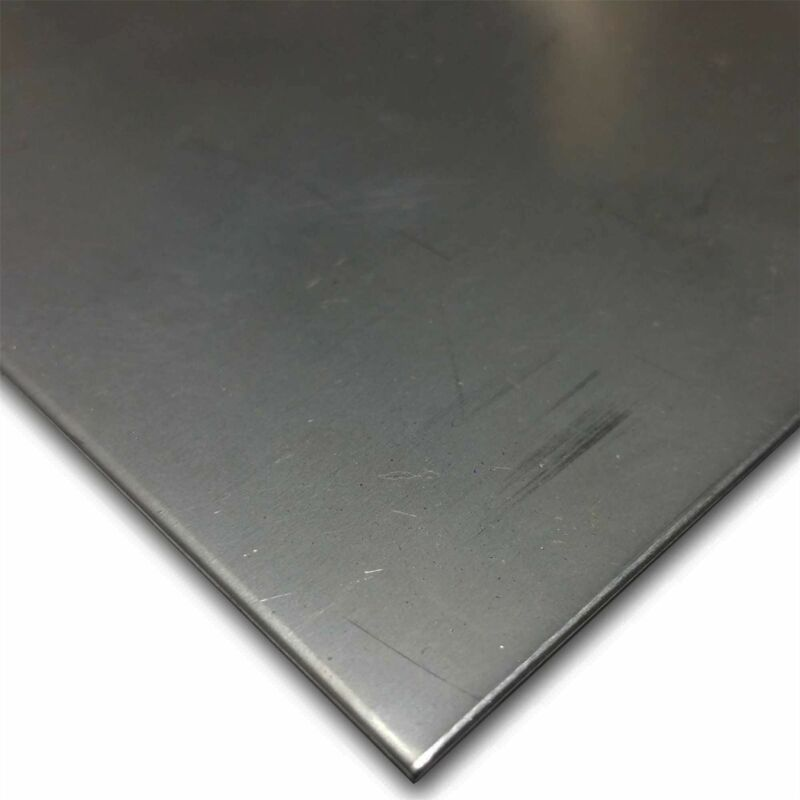 """410 Stainless Steel Sheet 0.060"""" x 12"""" x 12"""""""