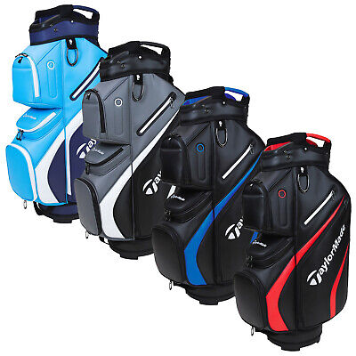 2021 TaylorMade Deluxe Golf Trolley Cart Bag 14 Way Divider 10