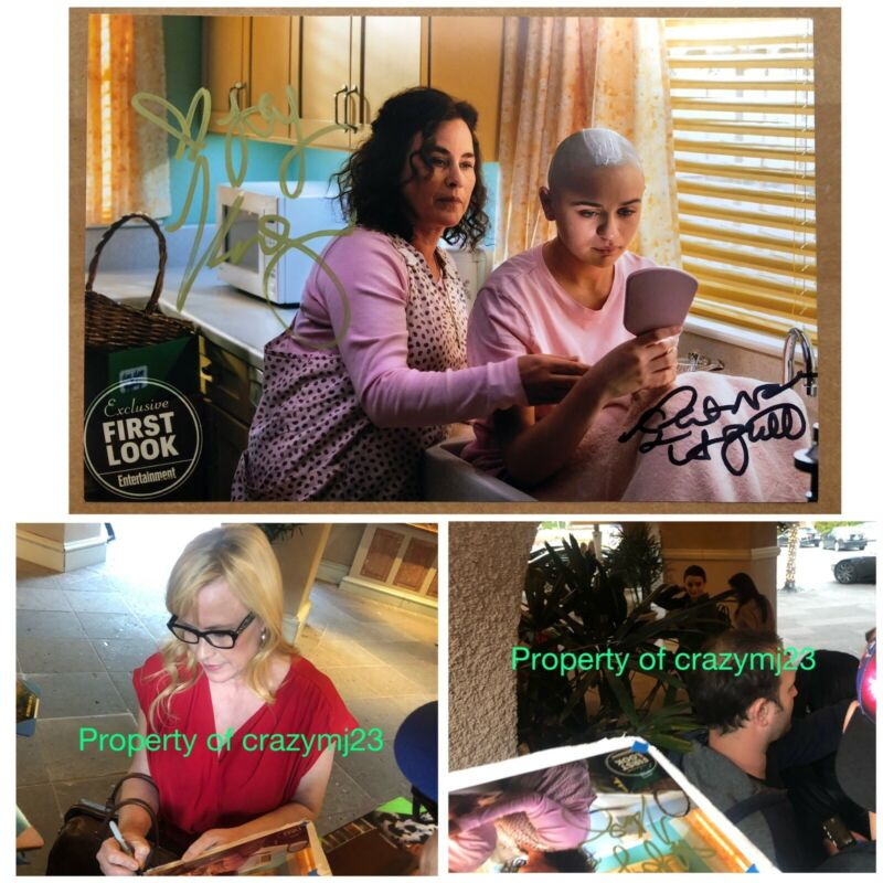 Patricia Arquette Joey King signed The Act True Romance Autograph Exact Proof