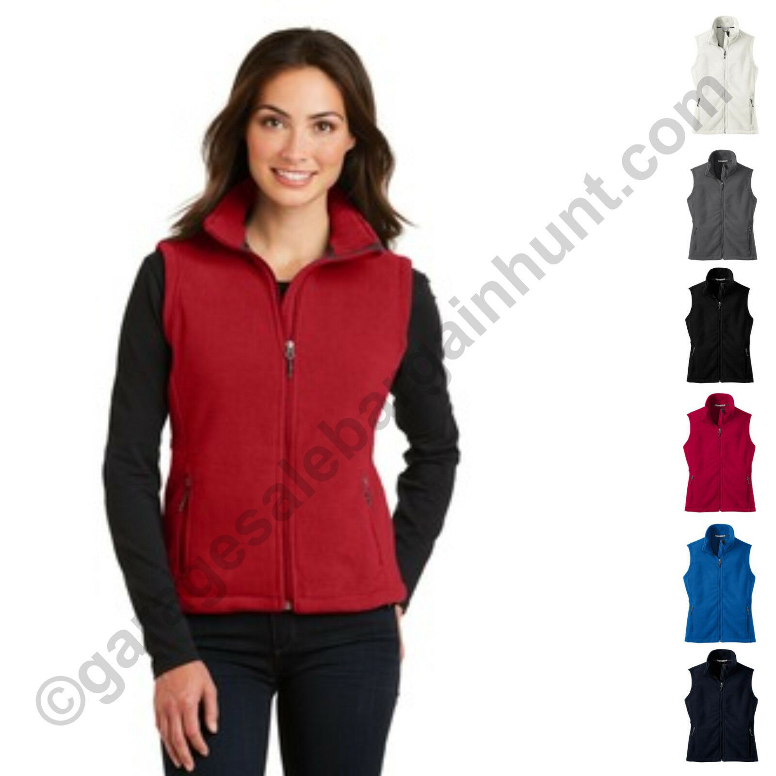 Port Authority Womens Fleece Vest Clothing Fall Winter XS-2X