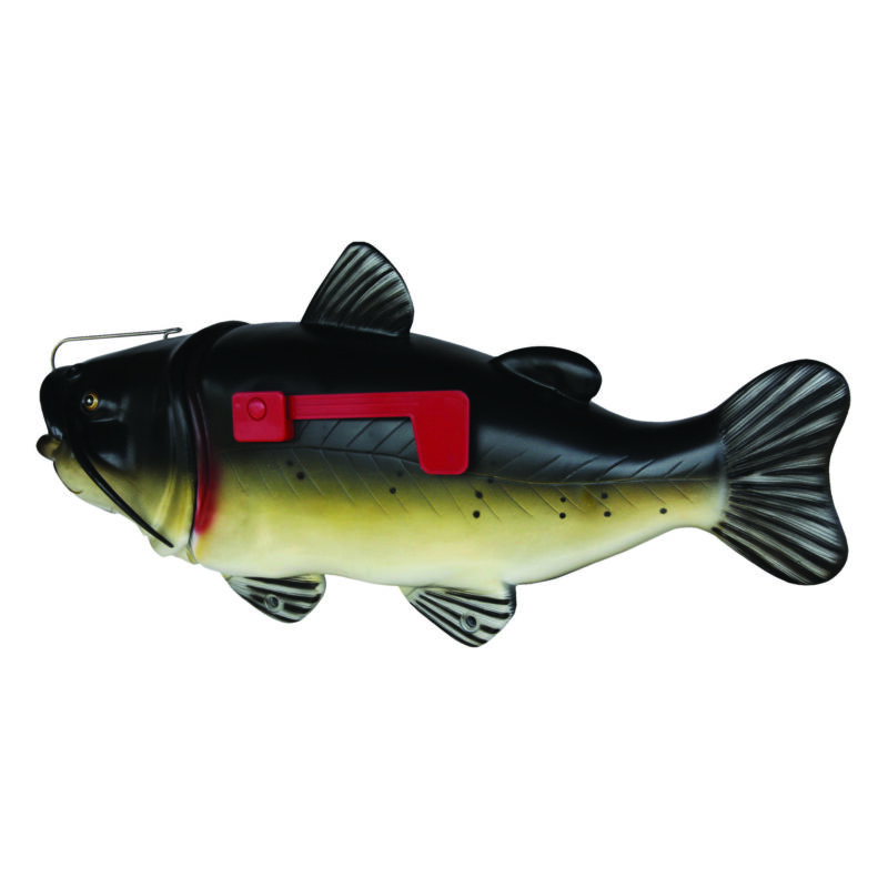 Catfish Mailbox with Tamper Resistant Mounting Hardware