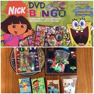 Lot of Kids games - cars Dora spongebob