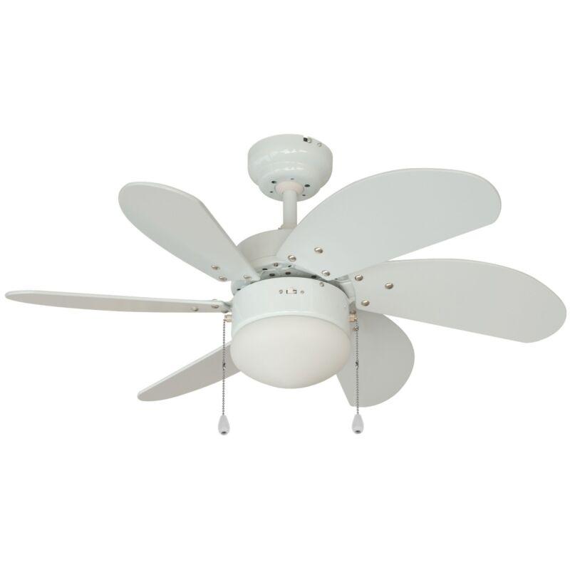 52 Gauguin Tropical 4 Blade Indoor Outdoor Ceiling Fan: Tropical Ceiling Fan Blades