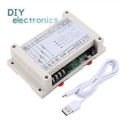 4channel Current Monitor Micro Usb Controller Instrument Measuring Tool Us