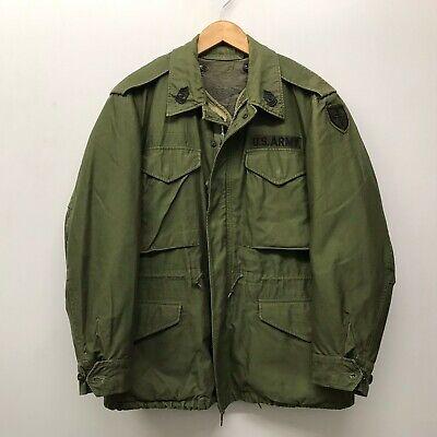 US Army M51 Field Jacket w/ Liner, Aluminum Zipper 1958, Small/Short J-43
