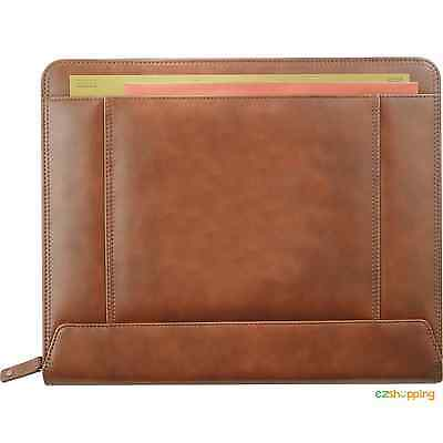 Cutter Buck Legacy Zippered Business Office Organize Padfolio 9830-10