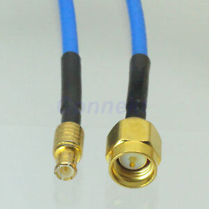 SMA-male-plug-to-MCX-male-for-test-cable-pigtail-leads-DB316-5cm