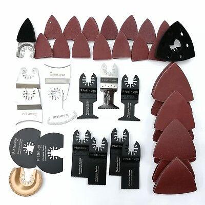 100pcs Mix Oscillating Saw Blade For Feinboschdremelmakita Multi Tool