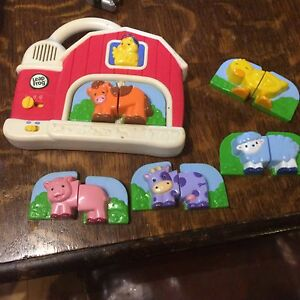 Leap frog fridge magnets