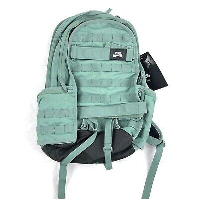 Nike SB RPM Skateboarding Backpack Bag Clay Military Green Black White
