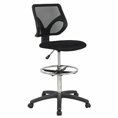Counter Chairs With Arms Drafting Chairs - Drafting Stool With Arms Tall Standing Desk Chair ...