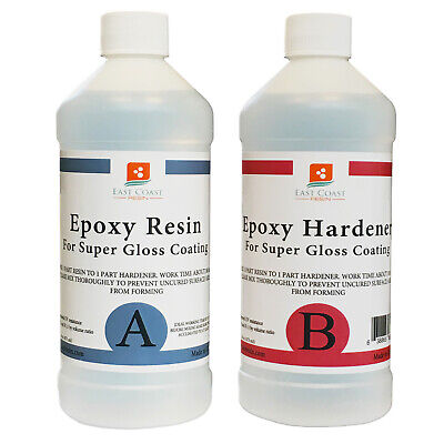 EPOXY RESIN 16 oz Kit  for Super Gloss Coating and Table Tops