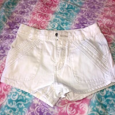 Free People Shorts High Rise Embroidered Size 25