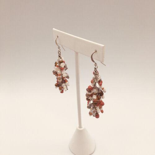 Beads Chandelier Earrings - $9.00