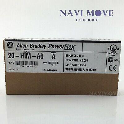 New Factory Sealed Allen Bradley 20-him-a6 Series A Powerflex Him Module Usa