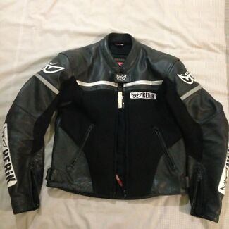 Leather Berik Motorbike Jacket