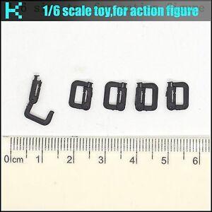 L30-01 KC 1/6 scale action figure D shape buckle * 5