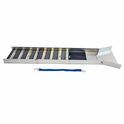 Photo Aluminum Folding Sluice Box for Gold Prospecting Carpet Miners Moss