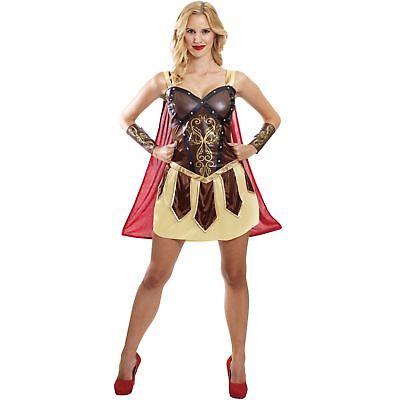 Princess Greek Wonder Woman Heroine Fancy Dress Costume (Warrior Woman Kostüm)