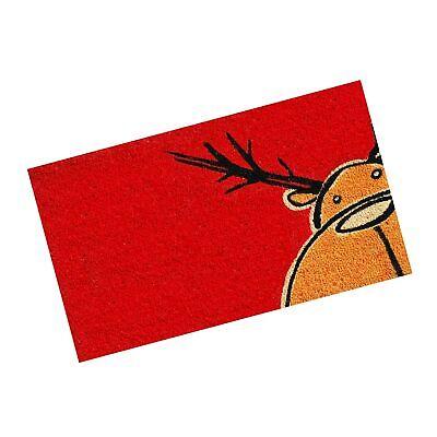 """Calloway Mills 120971729 Christmas Moose Doormat, 17"""" x 29"""", Multicolor"""