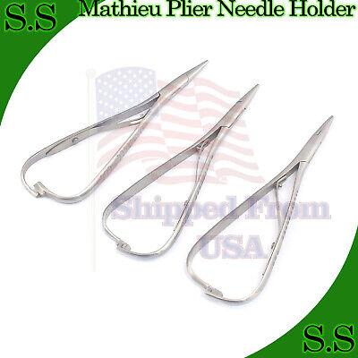 3 Pieces Mathieu Plier 5.5 Orthodontic Surgical Dental Instruments